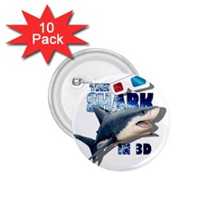 The Shark Movie 1 75  Buttons (10 Pack) by Valentinaart