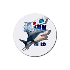 The Shark Movie Rubber Coaster (round)