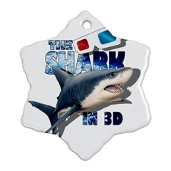 The Shark Movie Ornament (snowflake)