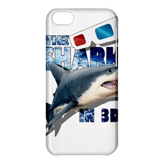 The Shark Movie Apple Iphone 5c Hardshell Case by Valentinaart