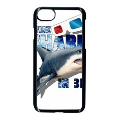 The Shark Movie Apple Iphone 7 Seamless Case (black) by Valentinaart