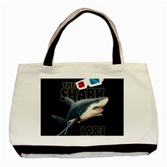 The Shark Movie Basic Tote Bag (two Sides)
