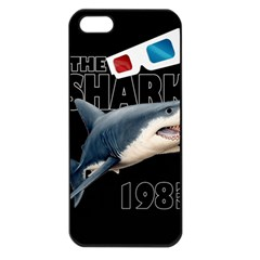 The Shark Movie Apple Iphone 5 Seamless Case (black) by Valentinaart