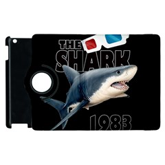 The Shark Movie Apple Ipad 3/4 Flip 360 Case by Valentinaart