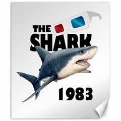 The Shark Movie Canvas 20  X 24