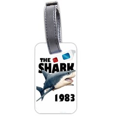 The Shark Movie Luggage Tags (one Side)