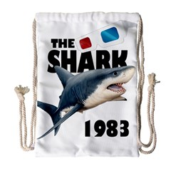 The Shark Movie Drawstring Bag (large)