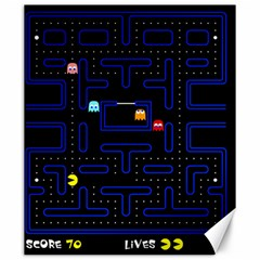 Pac Man Canvas 20  X 24   by Valentinaart