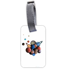 Planets  Luggage Tags (one Side)