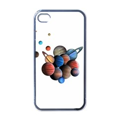 Planets  Apple Iphone 4 Case (black)