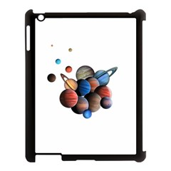 Planets  Apple Ipad 3/4 Case (black) by Valentinaart