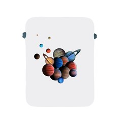 Planets  Apple Ipad 2/3/4 Protective Soft Cases by Valentinaart
