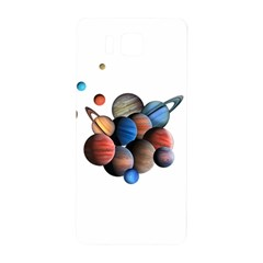 Planets  Samsung Galaxy Alpha Hardshell Back Case by Valentinaart