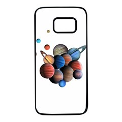 Planets  Samsung Galaxy S7 Black Seamless Case