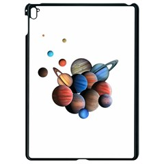 Planets  Apple Ipad Pro 9 7   Black Seamless Case by Valentinaart
