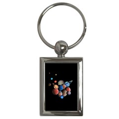 Planets  Key Chains (rectangle)  by Valentinaart