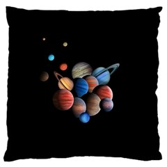 Planets  Standard Flano Cushion Case (one Side) by Valentinaart