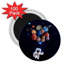 Planets  2 25  Magnets (100 Pack)  by Valentinaart