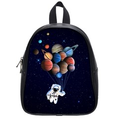 Planets  School Bag (small) by Valentinaart