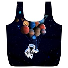 Planets  Full Print Recycle Bags (l)