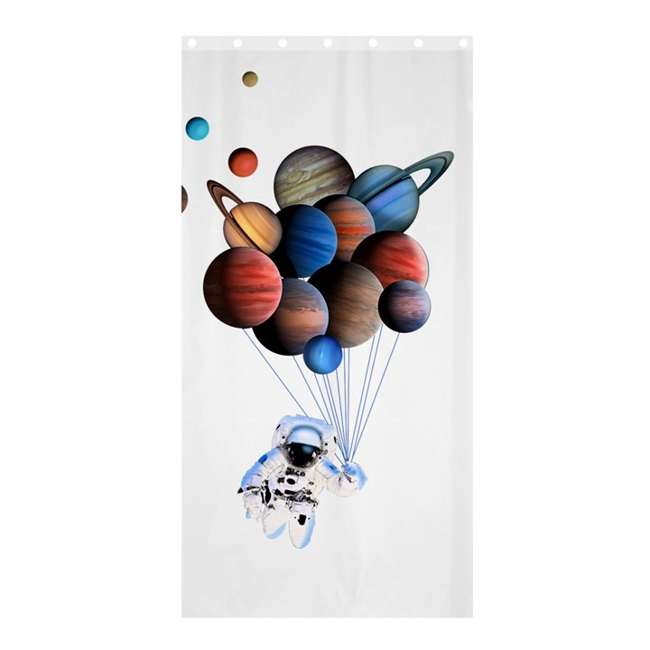Planets  Shower Curtain 36  x 72  (Stall)