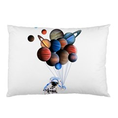 Planets  Pillow Case (two Sides) by Valentinaart