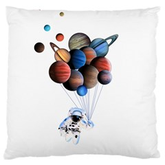 Planets  Large Cushion Case (two Sides) by Valentinaart