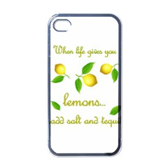 When Life Gives You Lemons Apple Iphone 4 Case (black)