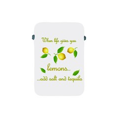 When Life Gives You Lemons Apple Ipad Mini Protective Soft Cases by Valentinaart