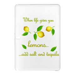When Life Gives You Lemons Samsung Galaxy Tab Pro 12 2 Hardshell Case by Valentinaart