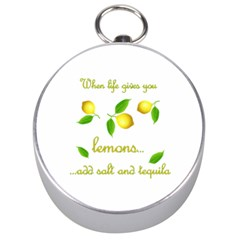 When Life Gives You Lemons Silver Compasses by Valentinaart