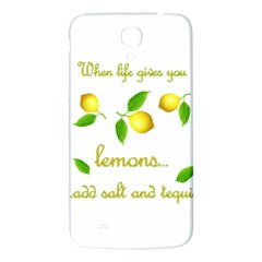 When Life Gives You Lemons Samsung Galaxy Mega I9200 Hardshell Back Case
