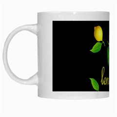 When Life Gives You Lemons White Mugs