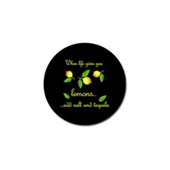 When Life Gives You Lemons Golf Ball Marker (10 Pack)