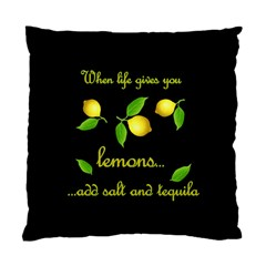 When Life Gives You Lemons Standard Cushion Case (one Side)