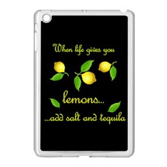 When Life Gives You Lemons Apple Ipad Mini Case (white) by Valentinaart