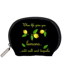 When Life Gives You Lemons Accessory Pouches (small)