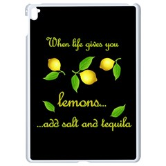 When Life Gives You Lemons Apple Ipad Pro 9 7   White Seamless Case by Valentinaart