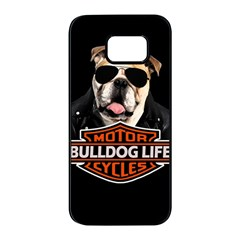 Bulldog Biker Samsung Galaxy S7 Edge Black Seamless Case
