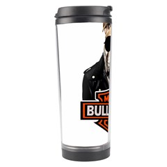 Bulldog Biker Travel Tumbler