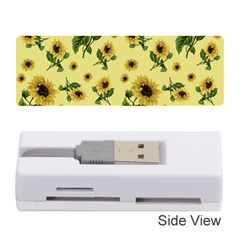 Sunflowers Pattern Memory Card Reader (stick)  by Valentinaart