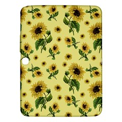 Sunflowers Pattern Samsung Galaxy Tab 3 (10 1 ) P5200 Hardshell Case  by Valentinaart