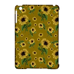 Sunflowers Pattern Apple Ipad Mini Hardshell Case (compatible With Smart Cover) by Valentinaart