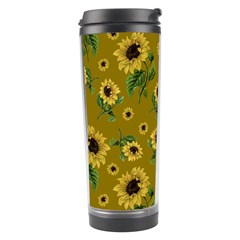 Sunflowers Pattern Travel Tumbler
