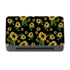 Sunflowers Pattern Memory Card Reader With Cf by Valentinaart