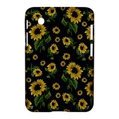 Sunflowers Pattern Samsung Galaxy Tab 2 (7 ) P3100 Hardshell Case  by Valentinaart