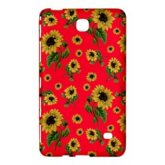 Sunflowers Pattern Samsung Galaxy Tab 4 (8 ) Hardshell Case  by Valentinaart