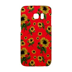 Sunflowers Pattern Galaxy S6 Edge by Valentinaart