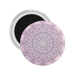 Pink Mandala art  2.25  Magnets