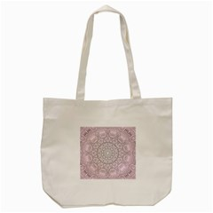 Pink Mandala art  Tote Bag (Cream)